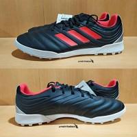 Adidas Copa 19.3 TURF - Black Red. Sepatu Futsal TF Sale Diskon Keren.