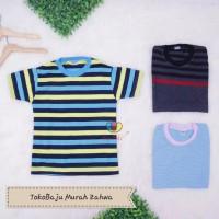 Kaos Salur Bayi Size 3-9 bulan /Lengan Pendek Baju Anak Laki