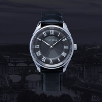 ALVIERI - Firenze Classic - Silver case 40mm Grey (AFE 113)