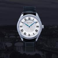 ALVIERI - Firenze Classic - Silver case 40mm White(AFE 111)
