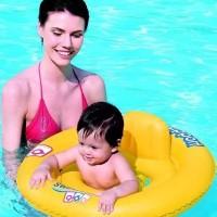 Pelampung Ban Renang Bayi Duduk Murah Double Ring Seat BESTWAY 32027 B