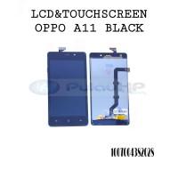 LCD + touchsreen Oppo joy 3/A11 black original OEM 100%