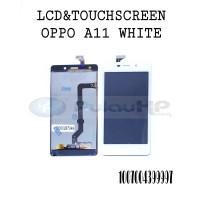 LCD + touchsreen Oppo joy 3/A11 white original OEM 100%