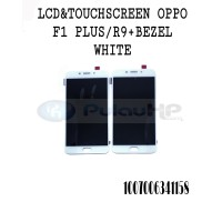 LCD OPPO F1 PLUS /R9+ BEZZEL WHITE ORIGINAL