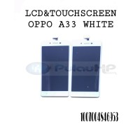 LCD + touchsreen white Oppo Neo 7/A33/A33w original OEM 100%