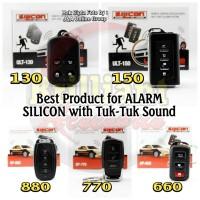 Alarm Mobil SILICON suara tuk-tuk remote - Best Alarm Type