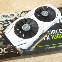 ASUS NVIDIA GEFORCE GTX 1060 3GB DUAL OC DDR5 VGA GPU GTX1060
