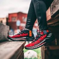 Sepatu Adidas Dame 4 Bape WGM Red - Premium Import