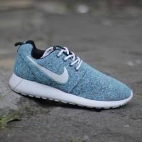 Sneakers Fhasion Pria Sepatu Nike Roserun Biru Muda Size 39-44