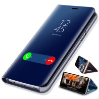 Samsung A720 A72018 A70 Clear View Standing Cover Mirror Case