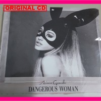 ALBUM Ariana Grande Dangerous Woman CD Original Import Eropa