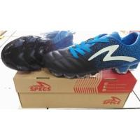 Sepatu Bola Specs Equinox FG, Black/Blue/White