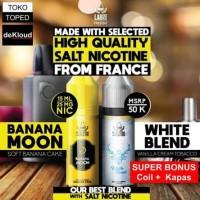 Salt51 SALT NICOTINE | saltnic 25mg | e-Liquid banana cake tobacco - White Blend
