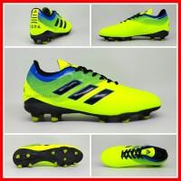 Sepatu Sepak Bola Dewasa Adidas Copa Hijau Stabilo Biru Htam