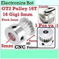 [EBS] GT2 Pulley Timing CNC 16 Teeth 16T 20T Gigi Puley 3D Printer 6mm