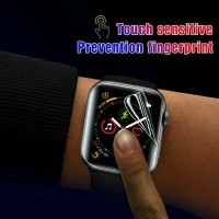 HYDROGEL APPLE WATCH SERIES FULL COVER ANTI GORES PROTECTOR IWATCH 3/4