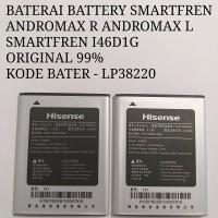 BATERAI SMARTFREN I46D1G ANDROMAX R ANDROMAX L- LP38220
