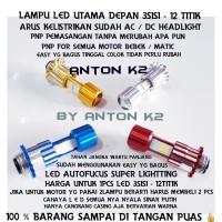 LAMPU DEPAN LED-BOLAM DEPAN LED MIO J-MIO SOUL-MIO M3-MIO Z-MIO SPORTY
