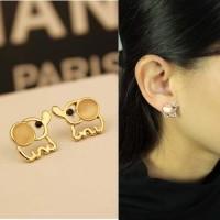 Anting Korea Cute Little Elephant Ear Clip No Needle REA341