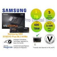 Samsung SSD 970EVO Plus 1TB - NVMe SSD M.2 - Garansi 5 tahun