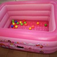 Kolam renang Mandi Bola anak kolam tiup baby spa kado anak senang