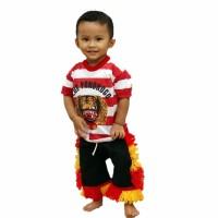 Setelan Kaos Reog Anak (Size 0 dan Size 1)