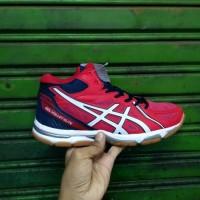 Sepatu Asics Gel Volley Elite Red White - Premium Import