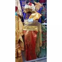 Baju Adat bali anak perempuan karnaval tarian kartinian