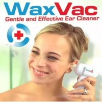 Waxvac Pembersih Telinga Elektrik Alat Kesehatan Telinga Korek