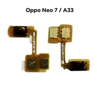 Flexible switch power on off oppo neo 7 a33 a33w original