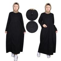 Baju Muslim Anak Gamis Hitam Fayrany FGH-003 - Hitam, 2-3 Tahun