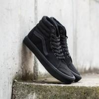 Sepatu Sneakers Vans Old Skool High SK8 Hi All Black