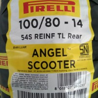 BAN PIRELLI ANGEL SCOOTER 100/80 RING 14