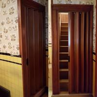 Pintu lipat Pvc anti karat pembatas ruang Penyekat ruangan PVC - Pintu