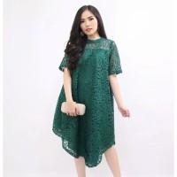 Baju Atasan Maxi drees Brokat YAMY best seller