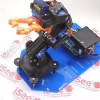 Kit Arduino Arm Robot Lengan 5 dof wireless 3D Fullset For Education