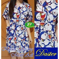 Daster Doraemon / Baju Tidur wanita dewasa / Katun jepang