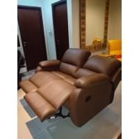 Sofa Recliner 2 seat bahan premium Promo