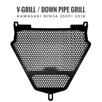 VGrill / V Grill / Undergrill / Under Grill Kawasaki Ninja 250 FI 2018