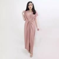 Baju Atasan Wanita Murah DREES Maxi angel pesta Scuba Premium