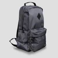 STOD Tas Ransel Pria Medieval Backpack - Dark Grey)