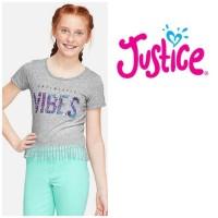 Baju anak perempuan merk justice