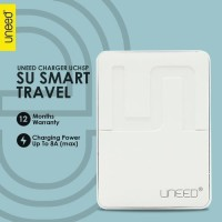 Uneed Smart Travel Charger 5 Port Max Output 8A - UCH5P
