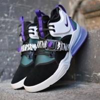 Sepatu Nike Air Force 270 Carnivore Black Court Purple PREMIUM Quality