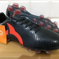 ORIGINAL Sepatu Bola - Soccer OrtusEight Forte Helios FG Black Ortred
