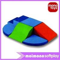 Softplay Moimono Fun Active Play Climber Set (PC-04) - mainan anak