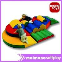 Softplay Moimono Fun Ramp Play Climber Set (PC-10)-indoor playground