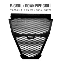 VGrill / V Grill / Under Grill / Down Pipe Grill Yamaha R25 2014-2017