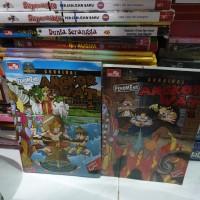 Set Survival Fenomena Angkot War 1-2 Science comic buku anak original