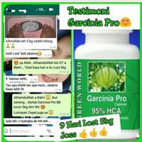 Garcinia Green World Slimming Capsule Bagus Menurunkan Berat Badan